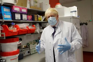 Boris Johnson Warns 'Inevitable' Second Wave of Coronavirus is Coming to Britain and UK Could See 'On-Off' Restrictions Until Spring