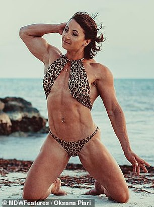 Goal: The mom wants to prove that female bodybuilders aren't 'monsters' like people think
