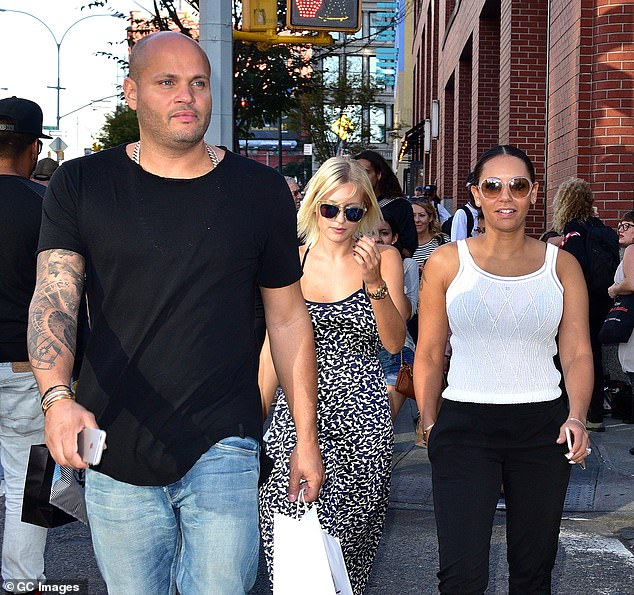 Past: The Spice Girl and Belafonte divorced in 2017 and she paid their former nanny $ 1.8 million in 2019 after settling a defamation lawsuit (pictured with Gilles in 2015)