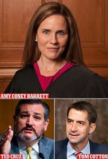 Who will Trump pick to replace RBG? The frontrunner devout Catholic Judge Amy Coney Barrett will battle it out with 20 others on the President's Supreme Court shortlist including senators Ted Cruz and Tom Cotton