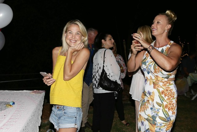 Lisa Curry and Grant Kenny have farewelled their eldest daughterJaimi Kenny (pictured left) on Saturday at a funeral service on the Sunshine Coast