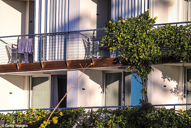 The site is home to Rick Steins' world renowned seafood restaurant. Pictured: The Balconies of rooms at Bannisters by the Sea Hotel
