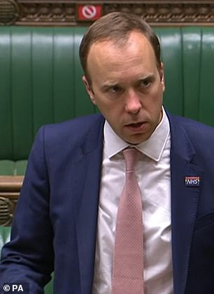 Take the Health Secretary, Mr Matthew Hancock. I know I have laughed at him in the past as a sort of crazy prep-school headmaster raging at his tiny pupils. But for goodness sake, the man is a Cabinet Minister, and he has real power over us
