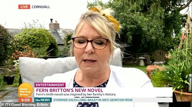 Honest: In June, Fern appeared on Lorraine where and spoke about the breakdown of her marriage to Phil