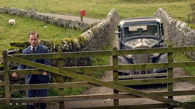 In the first episode, Herriot left a gate open as he drove his domineering practice owner, Siegfried Farnon, into a farm – a glaring breach of the Countryside Code
