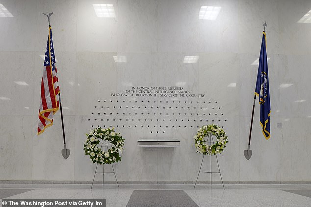 The four men had their stars added to the CIA's memorial wall in Langley, VA in 2008