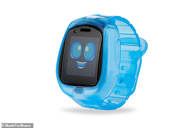 The Little Tikes Tobi Robot Smartwatch is a child's smartwatch that combines the interactive features of a smartwatch with a playful robot character