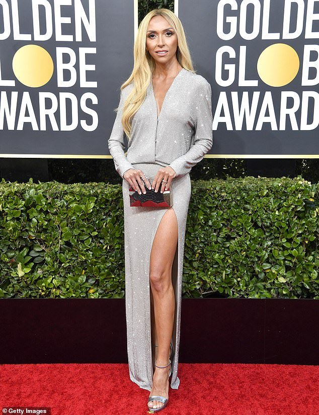 Heavy-hitter: Giuliana has been a red carpet staple for over 13 years, joining E! in 2002; pictured at the 77th annual Golden Globes January 2020