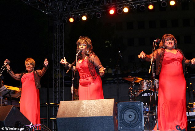 In concert: Pamela and the Emotions took to the stage for a music festival