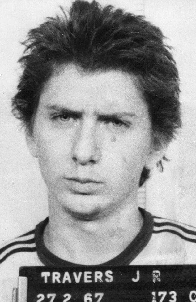 John Raymond Travers was 18 and considered the ringleader of the gang who kidnapped, raped and murdered Anita Cobby in February 1986. All five killers were sentenced to die in jail