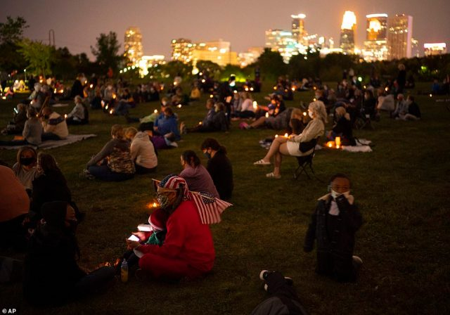 MINNEAPOLIS:Hundreds gathered on the grass to honor Ginsberg at a memorial event Sunday night