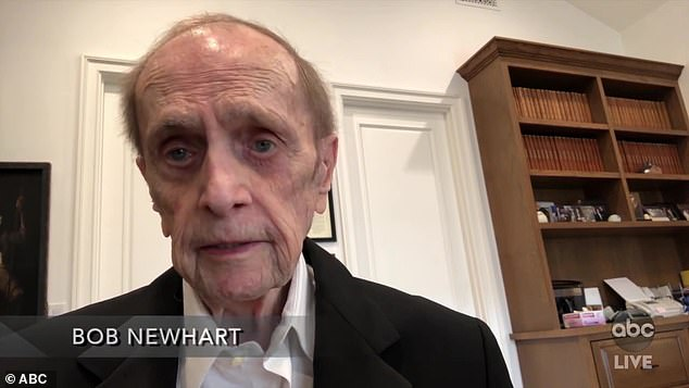 Legend:TV legend Bob Newhart revealed he 'gave up skydiving and quit my class in alligator wrestling, but that's pretty much it.