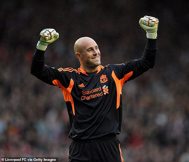 Former Liverpool No 1, Pepe Reina, got the nod in goal ahead of Chelsea legend Petr Cech