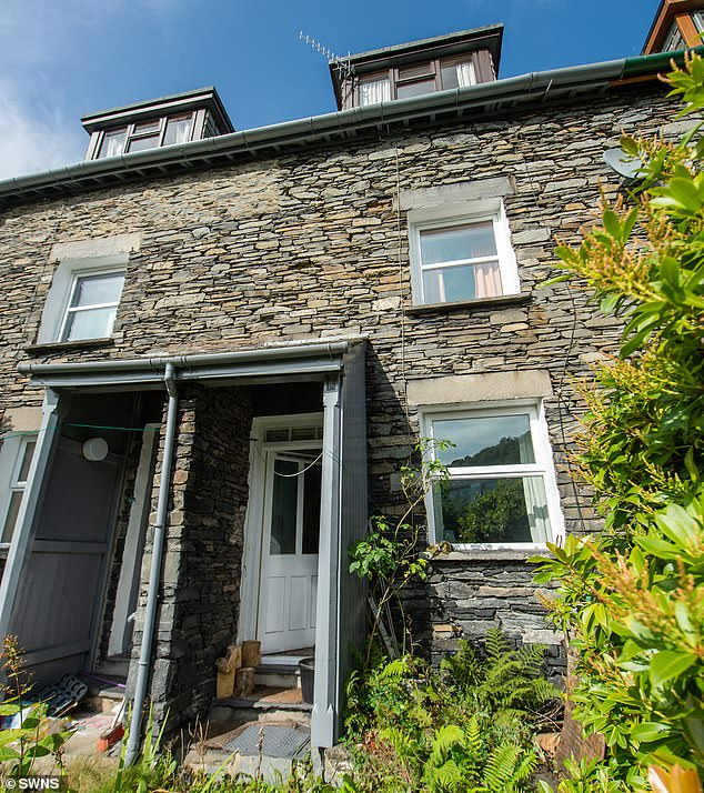 Her parents moved into the modest three-bed mid-terrace property, in Ambleside, Cumbria, when she was six-months-old