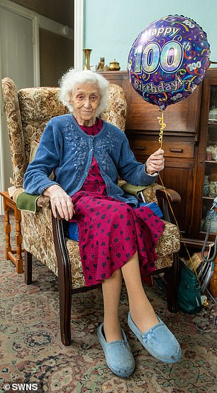 Active Vera puts her longevity down to the fact she has never smoked or drank and living in clean, fresh air
