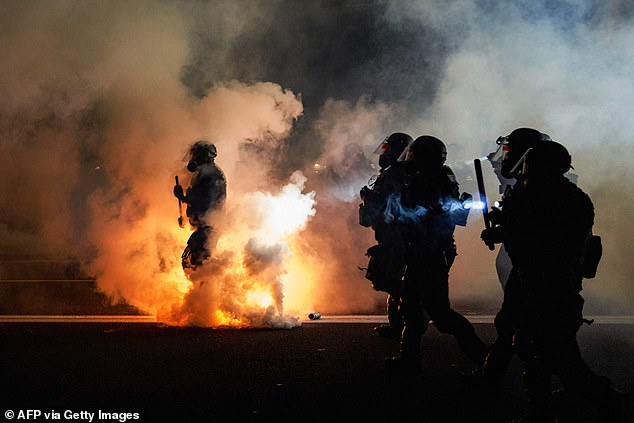Civil unrest has burnt the streets of US states from Oregon to Texas since the killing of George Floyd by four police officers in Minneapolis on May 25