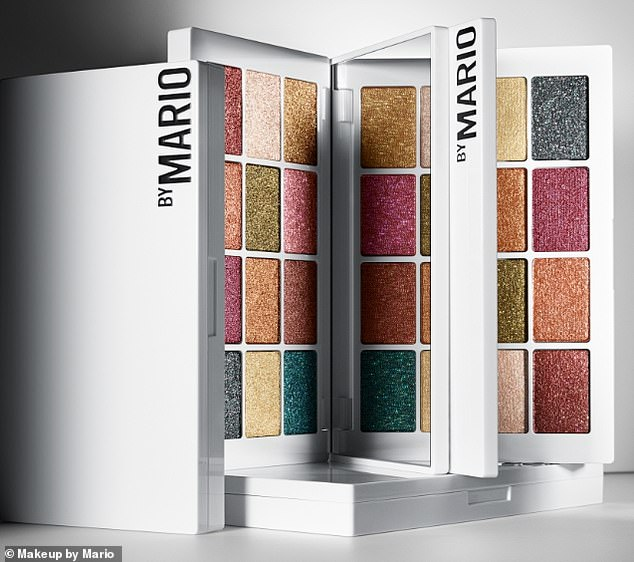 Natural: The beauty pro revealed that the shades in his collection were inspired by the colors of human organs and arteries, because he wanted them to be completely universal