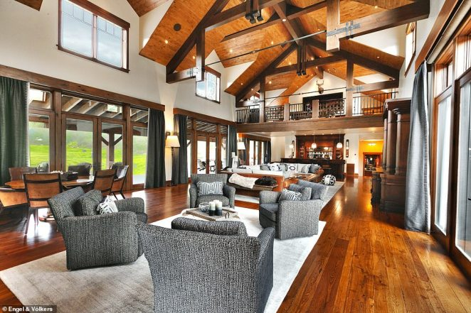 Known as the Riverbed Ranch, Milton's 2,670-acre property includes a 16,800-square-foot mansion along the Weber River
