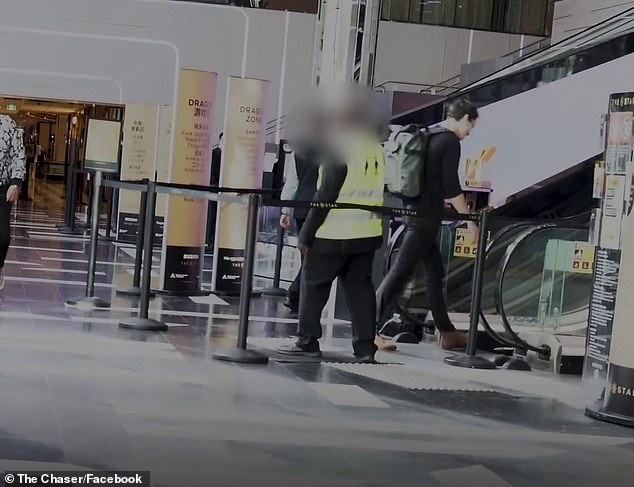 A viral video posted by the satirical news site The Chaser, put the Sydney venue's COVID-19 screening process to the test in a comedic video