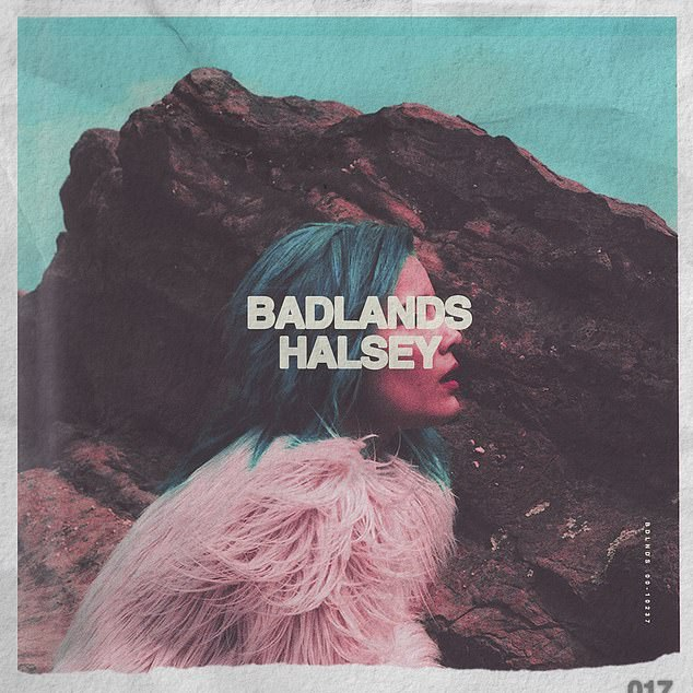 Five years later: Halsey's clap back comes after she celebrated five years since her debut album Badlands last month, dropping a live album, which was recorded last year at New York City's famed Webster Hall