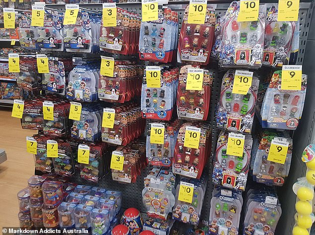 As the Woolworths Disney+ Ooshies promotion comes to a close at the end of the week, Big W has also launched a huge sale on the popular collectable toys (Big W store pictured)