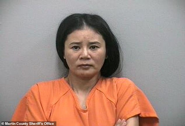 Kraft allegedly visited Lei Wang (pictured), the spa manager, on January 19 at Orchids of Asia