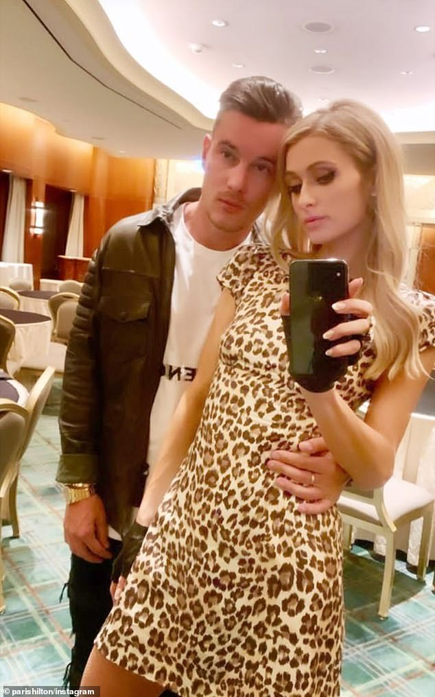 Hitting back!Paris Hilton took a swipe at her ex-boyfriend Aleks Novakovic this week, implying that he's not worthy enough to be given the title of being one of her ex-boyfriends