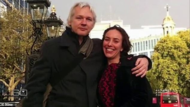 South African-born lawyer Stella Morris (right) and Assange (left) began dating in 2015 after she helped work on a legal bid to halt his extraditions