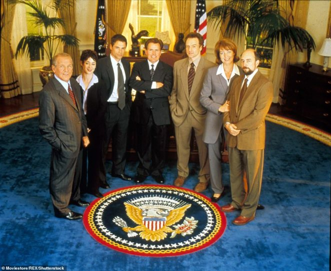 Success story: The West Wing ran for seven seasons from 1999 to 2006