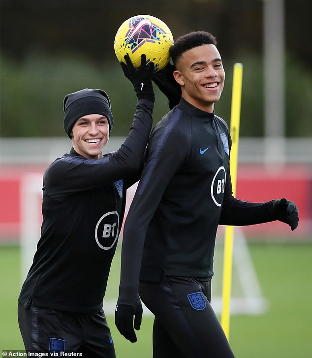 Controversy: Greenwood and fellow England debutant Phil Foden were axed from the England squad in September for breaking the team's strict quarantine protocol