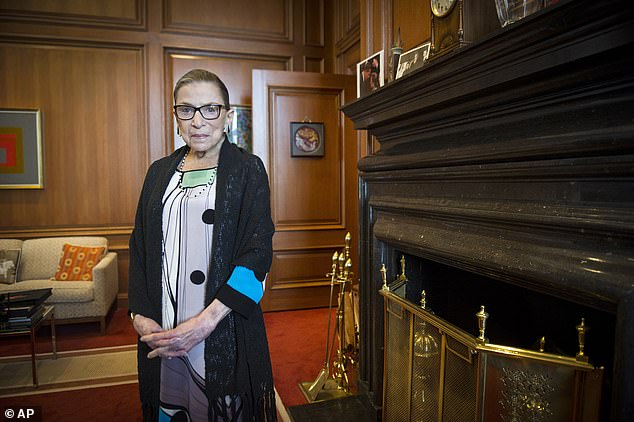 Ginsburg died due to complications from pancreatic cancer on Friday ¿ leaving a Supreme Court seat open just a few weeks before the presidential election