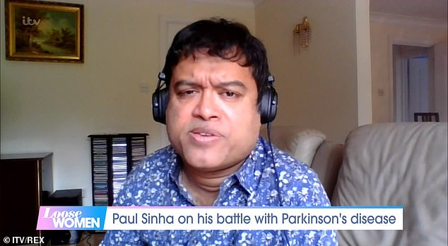 Health: The Chase's Paul Sinha hit back at a troll who criticised his grammar on Tuesday, as he Tweeted: 'I make mistakes due to changed life circumstances' (pictured this month)