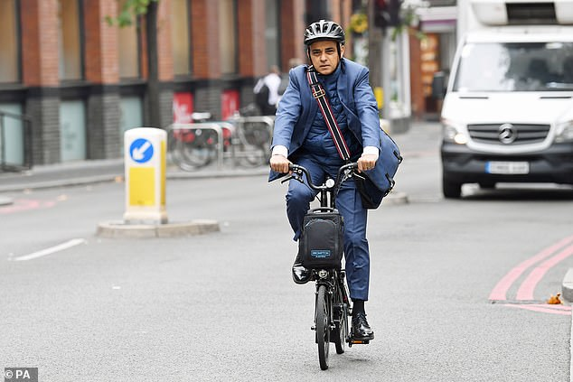 Mr Khan's £33million Low Traffic Neighbourhood has implemented cycle lane segregation and banned turns at several junctions to promote alternative forms of travel