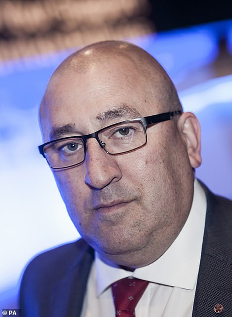 Chairman of the Metropolitan Police Federation Ken Marsh (pictured) slammed today's announcement as 'a nonsense'