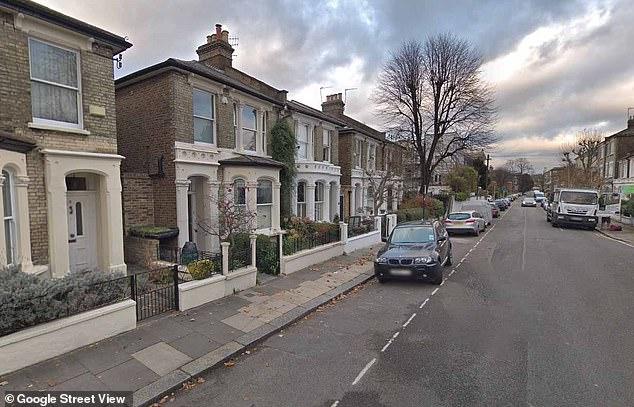 Impressive: Sheeran's impressive 'Edopoly' property empire also includes three down Findon Road in Hammersmith (stock image of Findon Road pictured)