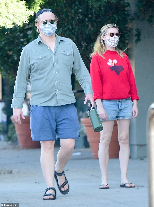 Family outing:Kirsten Dunst and Jesse Plemons first met on the set of their critically acclaimed FX anthology series Fargo in 2015