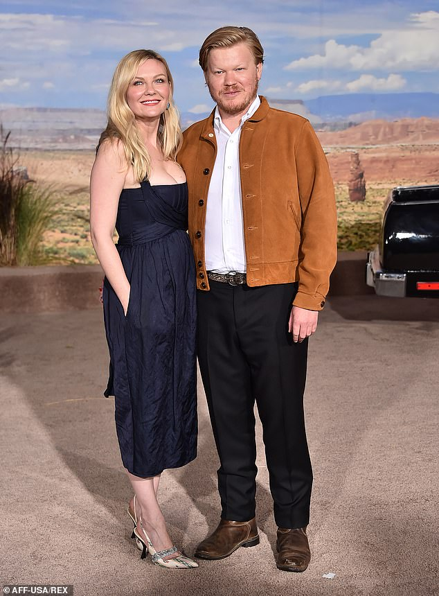 Upcoming:As for a more recent project, the pair are set to appear in the upcoming Jane Campion film The Power Of The Dog; Kirsten and Jesse pictured in 2019