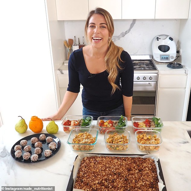Sydney dietitian and author Lyndi Cohen (pictured) added everyone has a 'different threshold' to dairy products, with some people being completely intolerant and choose to avoid consuming dairy