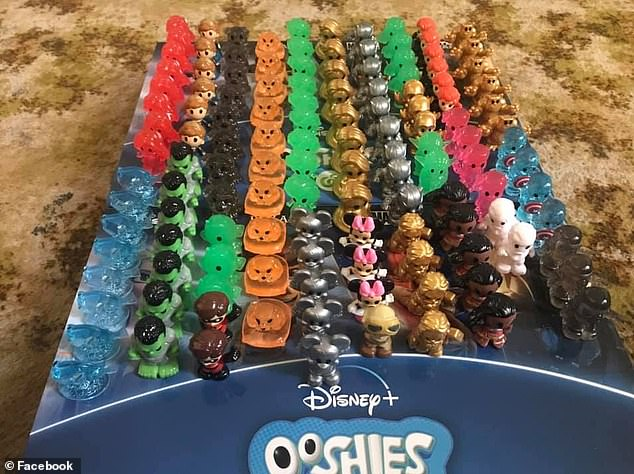 A Woolworths employee has revealed she was abused by customers at work after the supermarket ended its Disney+ Ooshies (pictured) collectables promotion early