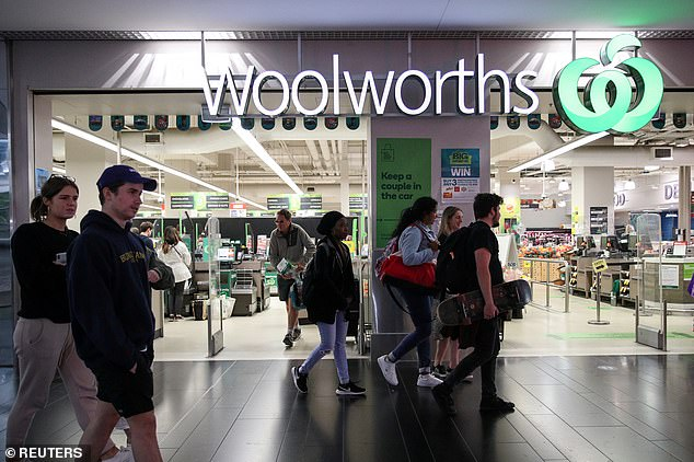 Woolworths (pictured) planned to run the Disney figurine promotion until October 20 but revealed stocks would run out this weekend due to'extraordinary demand'