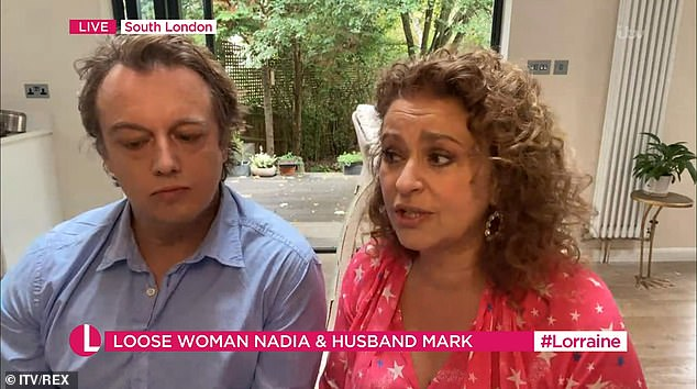 Nadia Sawalha and her husband have been homeschooling their daughters for six years