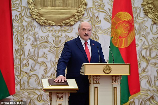 Unrest in Belarus intensified last night after President Alexander Lukashenko was sworn in for a new term in an unannounced inauguration on Wednesday