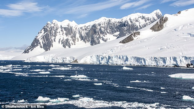 Antarctica - Antarctic Peninsula - Palmer Archipelago. If temperatures continue to rise Antarctica could lose all of its ice sheet, revealing the continent underneath