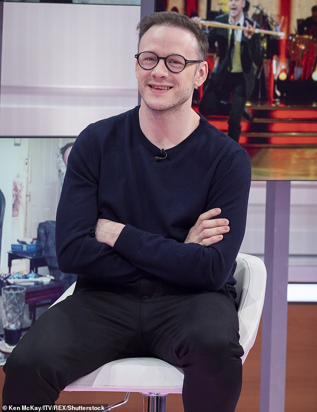 It's just, a little crush!Kevin Clifton has revealed that girlfriend Stacey Dooley has fancied him since 2013 as he unearthed a historic tweet on Wednesday (pictured in February)