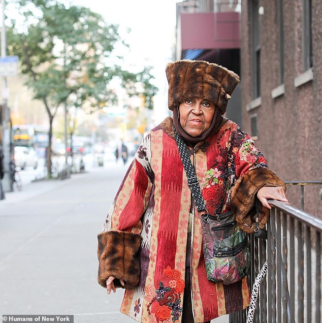 More, please! She first posed for Humans of New York last year and earned lots of attention