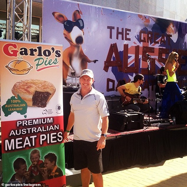 Former NRL star Sean Garlick went from selling pies out of a small Sydney bakery to shipping containers of product overseas and growing his company into a $20million empire