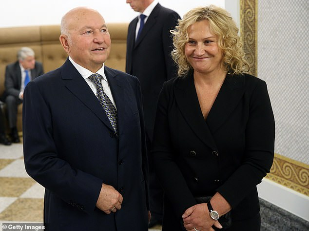 Baturina is the widow of former Moscow Mayor Yuri Luzhkov (with her above). In 2010, Russia's president fired Luzhkov as mayor over corruption allegations, which were never proven