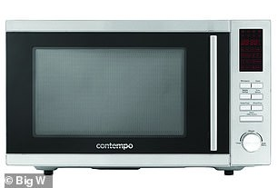 If you're on a budget, the testers recommended the $99 Contempo microwave