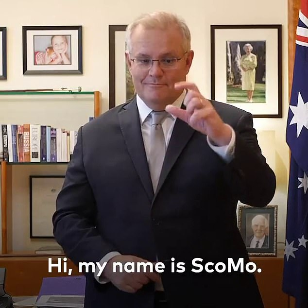 Scott Morrison's touching social media post for the country's deaf and hearing community has been hijacked by angry Australians
