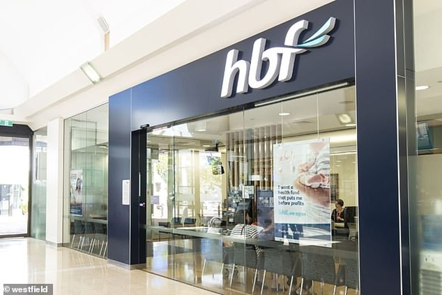 Customers on the books of HBF won't see an increase in their premiums until March in 2021 (stock image)